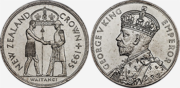 Crown 1935 - New Zealand