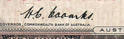 Australian banknote - Commonwealth Bank of Australia