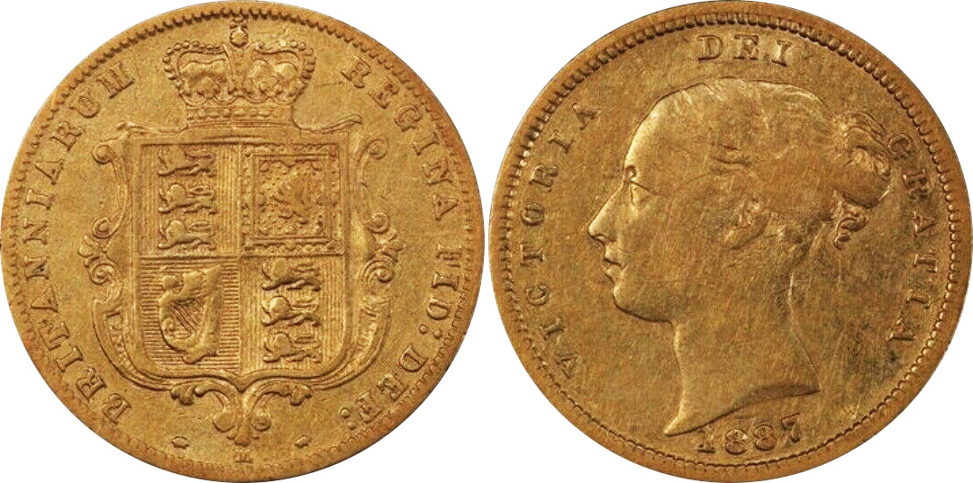 Half-Sovereign 1887 - Australian coin