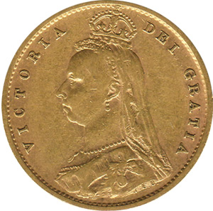 Half Sovereign - Jubilee Head - Victoria