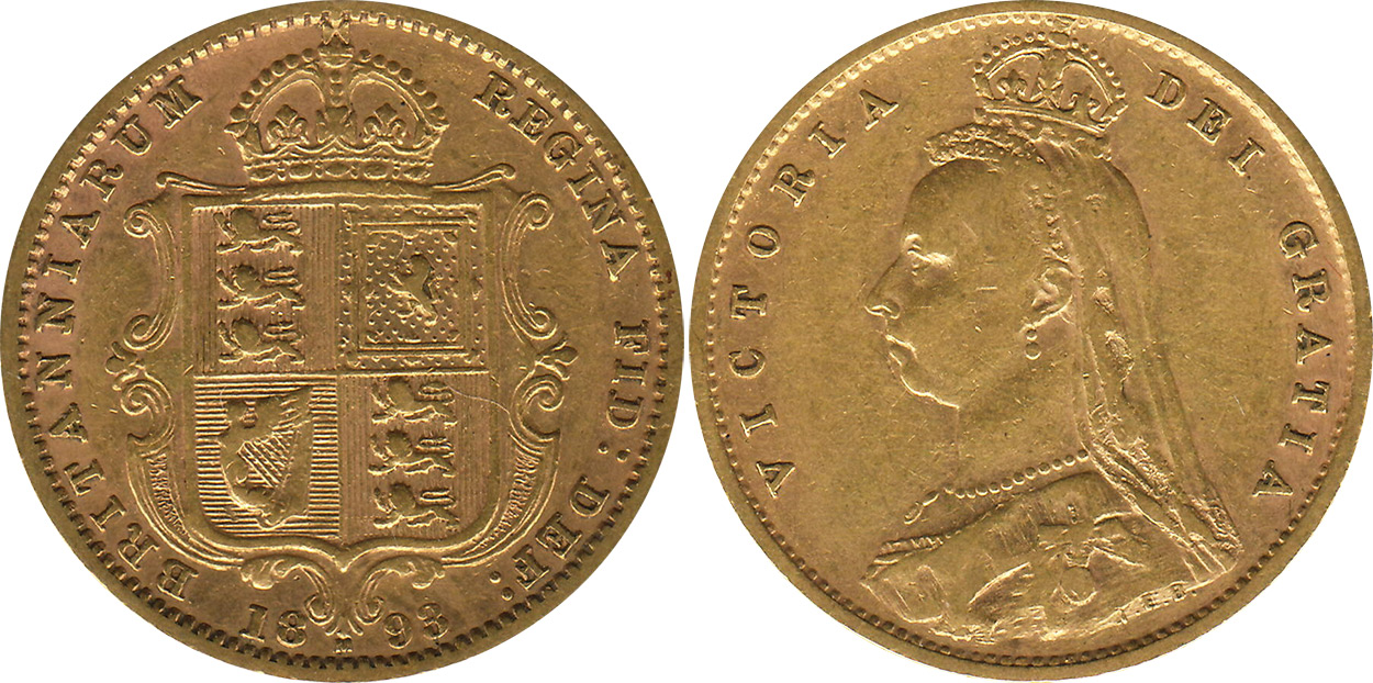 Half-Sovereign 1891 - Australian coin