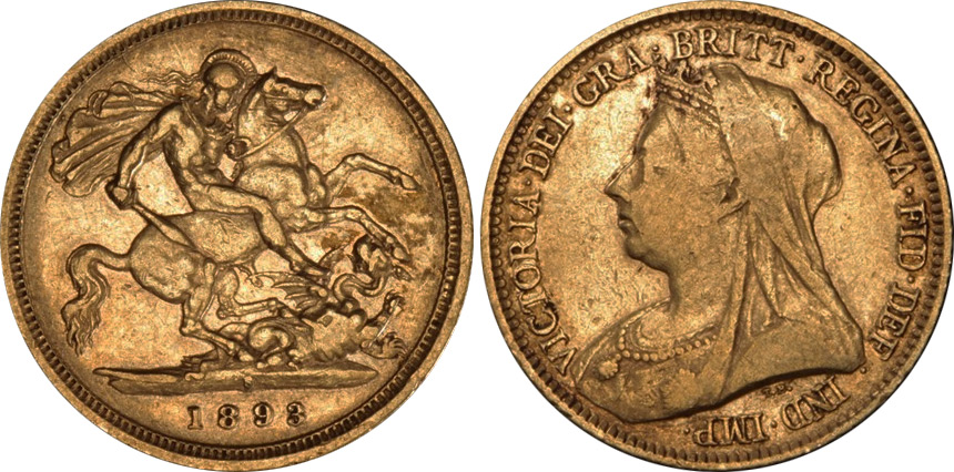 Half-Sovereign 1899 - Australian coin