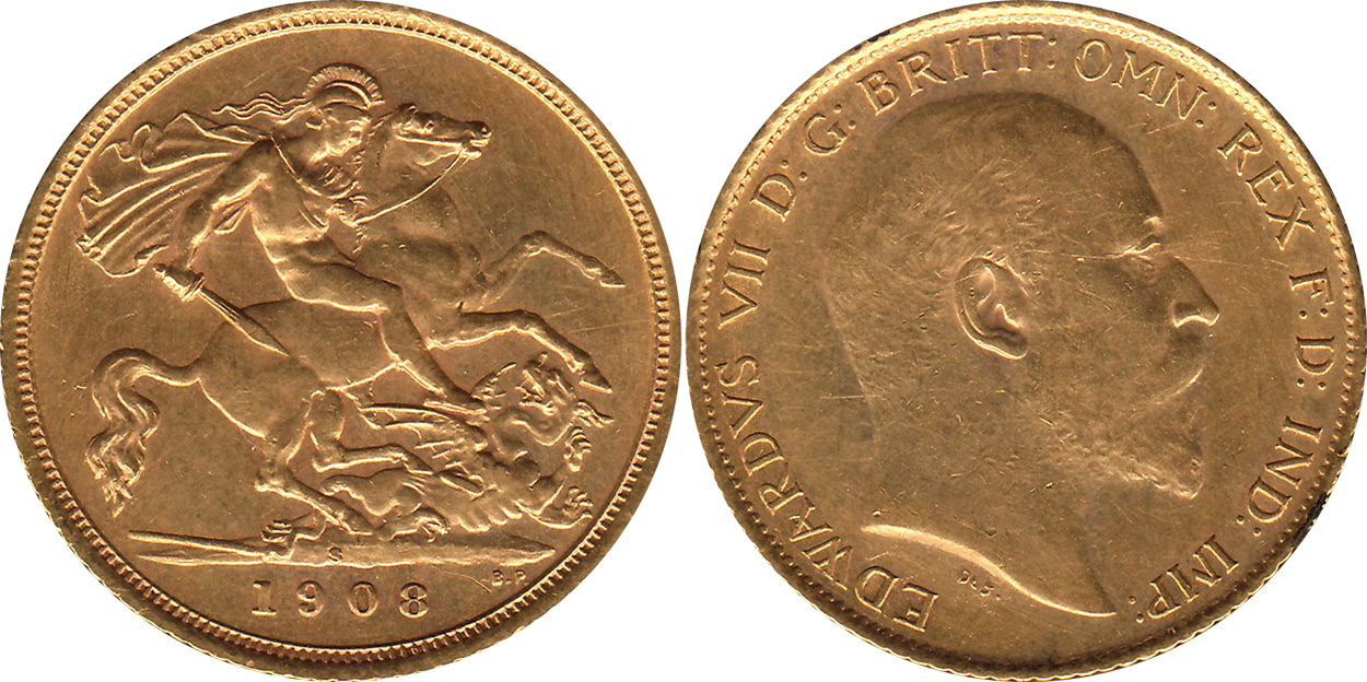 Half-Sovereign 1902 - Australian coin