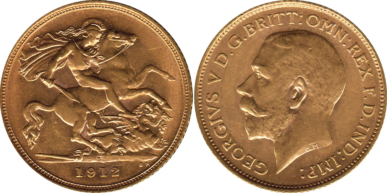 Half-Sovereign 1912 - Australian coin